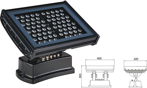 Guangdong led factory,led work light,108W 216W Square waterproof LED wall washer 2, LWW-7-72P, KARNAR INTERNATIONAL GROUP LTD