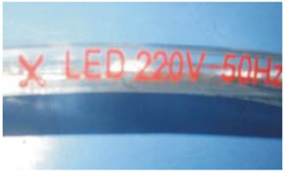 Guangdong buru fabrika,buru banda,110 - 240V AC SMD 5050 Led strip light 11, 2-i-1, KARNAR INTERNATIONAL GROUP LTD