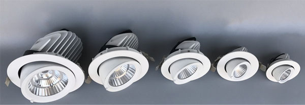 Guangdong led factory,LED down light,50w elephant trunk recessed Led downlight 1, ee, KARNAR INTERNATIONAL GROUP LTD