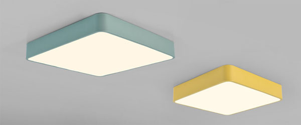 Guangdong led factory,Macarons color,48W Square led ceiling light 1, style-2, KARNAR INTERNATIONAL GROUP LTD
