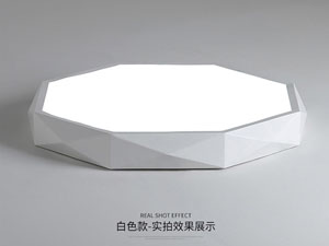 Guangdong buru fabrika,LED proiektua,18W Hexagon buru sabaia argi 5, white, KARNAR INTERNATIONAL GROUP LTD