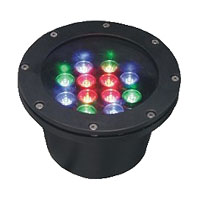 Guangdong led factory,LED fountain lights,24W Circular buried lights 5, 12x1W-180.60, KARNAR INTERNATIONAL GROUP LTD
