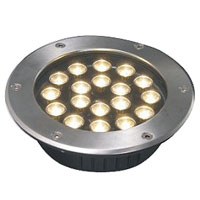Guangdong led factory,LED underground light,6W Circular buried lights 6, 18x1W-250.60, KARNAR INTERNATIONAL GROUP LTD