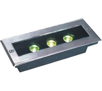Guangdong buru fabrika,LED argiak lurperatuta,1W Plaza Buried Light 6, 3x1w-120.85.55, KARNAR INTERNATIONAL GROUP LTD