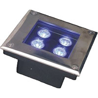 Guangdong led factory,LED buried lights,36W Circular buried lights 1, 3x1w-150.150.60, KARNAR INTERNATIONAL GROUP LTD