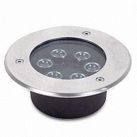 Guangdong led factory,LED buried light,24W Square Buried Light 3, 6x1W, KARNAR INTERNATIONAL GROUP LTD