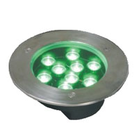Guangdong led factory,LED fountain lights,24W Circular buried lights 4, 9x1W-160.60, KARNAR INTERNATIONAL GROUP LTD