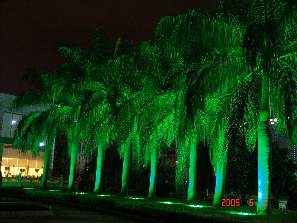Guangdong led factory,LED fountain lights,1W Circular buried lights 8, Show2, KARNAR INTERNATIONAL GROUP LTD