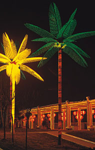 Llum de palmera de coco LED KARNAR INTERNATIONAL GROUP LTD