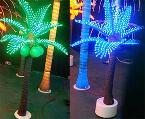 Lumo de palmo de kokoso LED KARNAR INTERNATIONAL GROUP LTD